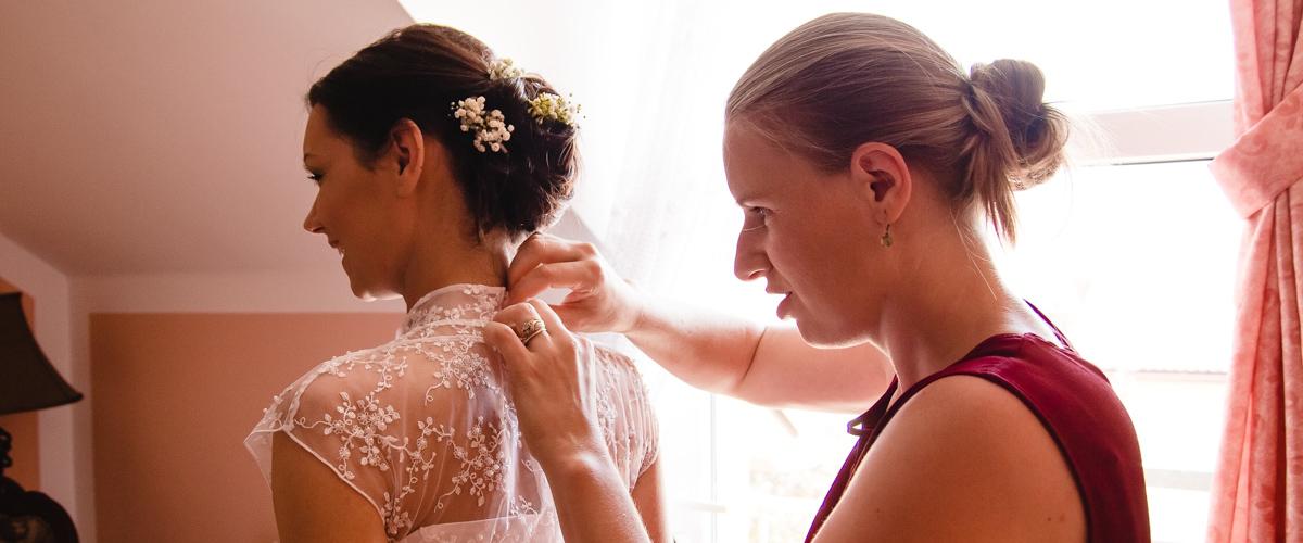 focení svatebních příprav