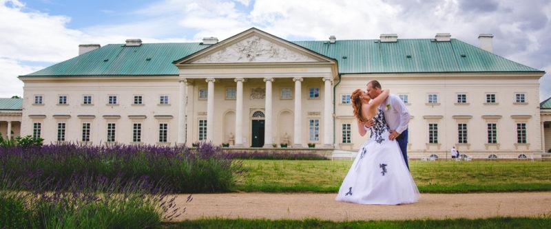 Svatba na zámku Kačina