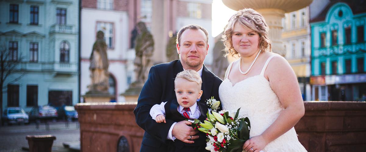 Focení svatby - Kolín